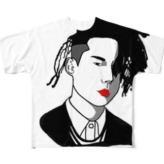 ドレッドフレンド Full graphic T-shirts