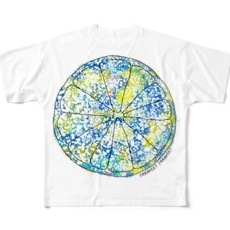 フレッシュ爽快、柑橘系。 Full graphic T-shirts