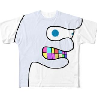 ボンベ君 Designed by LILT Full graphic T-shirts