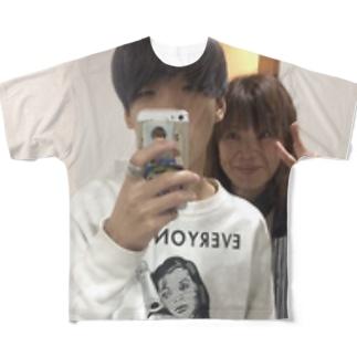 アラタ・フリハタTシャツ 「親孝行」 Full graphic T-shirts