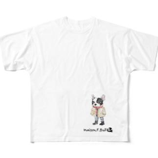 メイソン.F.ブル Full graphic T-shirts