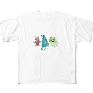こはくん半年記念 Full graphic T-shirts