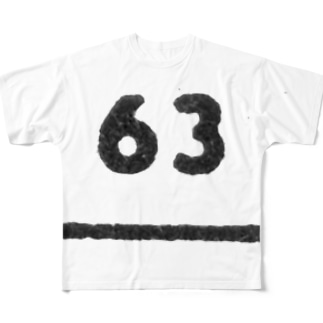 No.63 Full graphic T-shirts