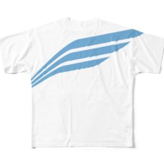 ELITUS BIG LOGO TEE (NAVY) Full graphic T-shirts