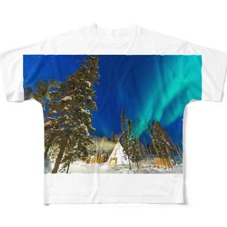 オーロラ Full graphic T-shirts