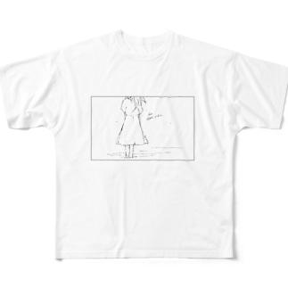 シーサイド Full graphic T-shirts