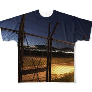 金網 Full graphic T-shirts