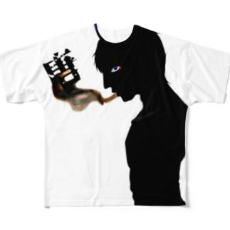 唐鬼 Full graphic T-shirts