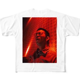 2-d 混沌グラフィック Full graphic T-shirts