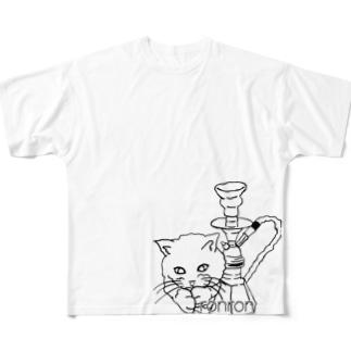 sheeshaシリーズ Full graphic T-shirts