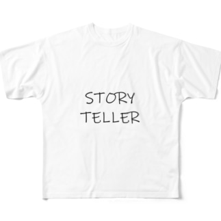 STORY TELLER Full graphic T-shirts