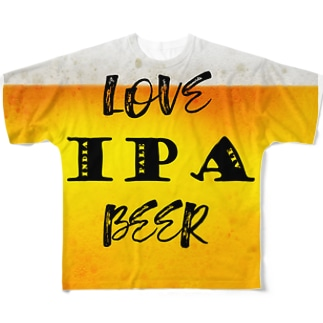 love IPA beer ver2 Full graphic T-shirts