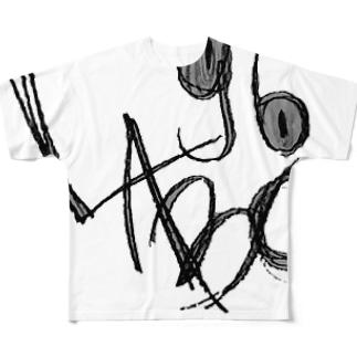 クロラボクン Full graphic T-shirts