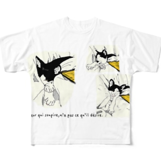 サスケさん Full graphic T-shirts