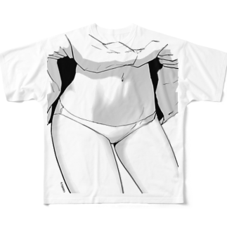 向浦宏和のpants Full graphic T-shirts