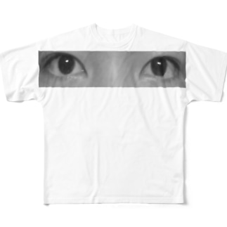 瞳 Full graphic T-shirts