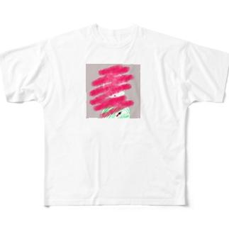 紅子 Full graphic T-shirts