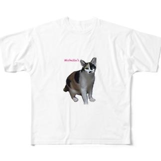ミッシェルずNo2 Full graphic T-shirts