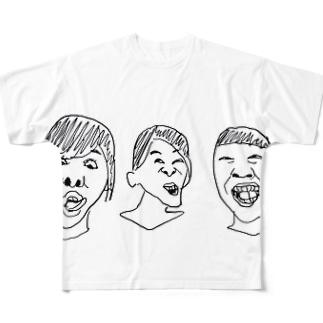 姉妹 Full graphic T-shirts