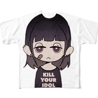 名無しちゃんTee Full graphic T-shirts
