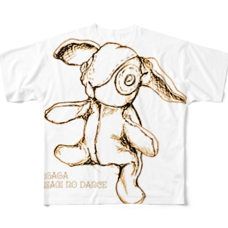 usagi no dance Full graphic T-shirts