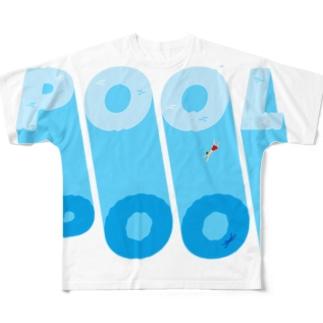 プール All-Over Print T-Shirt