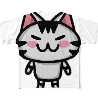 ボンcolor Full graphic T-shirts