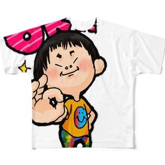 ワルガキふーたん♡ Full graphic T-shirts