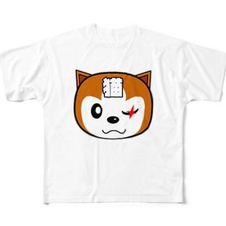 【原価販売】チャタローBタイプ Full graphic T-shirts
