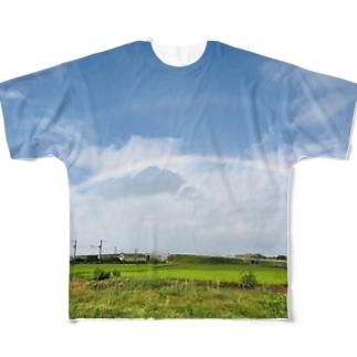 matsunomiの8月21日の朝 Full graphic T-shirts