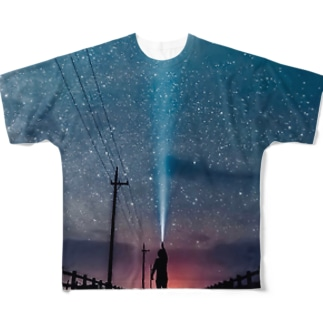 STAR search Full graphic T-shirts
