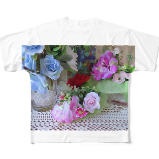 Dreamscapeの香しき香りNo.15 Full graphic T-shirts