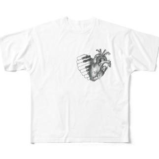 心音(HeartSeries) Full graphic T-shirts
