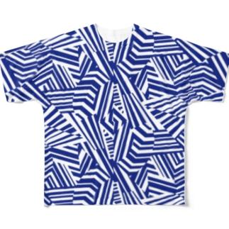dazzle2 Full graphic T-shirts