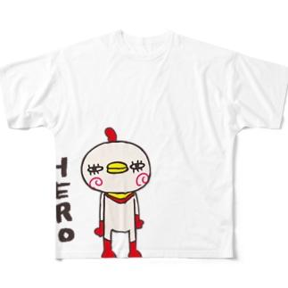 HERO Full graphic T-shirts