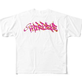 third eye pink T Full graphic T-shirts