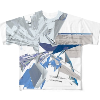 人工卵 Full graphic T-shirts