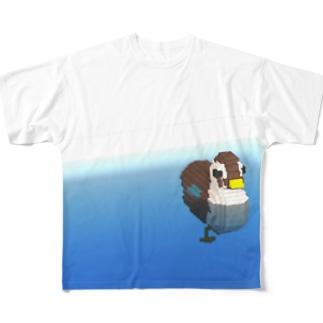 カモ Full graphic T-shirts