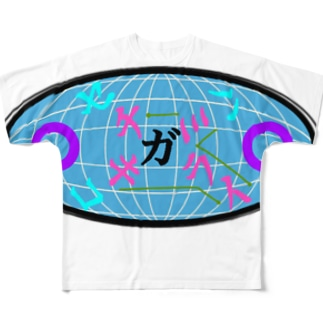 【NANN TO NAKU】かくれんぼ Full graphic T-shirts