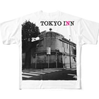 TOKYO INN Full graphic T-shirts