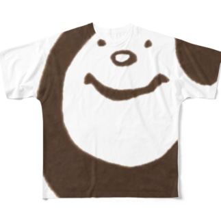 ちゃむくん Full graphic T-shirts