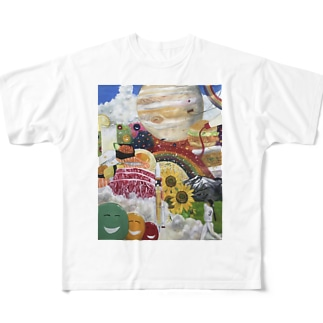 ワンダーランド Full graphic T-shirts