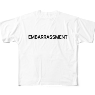 EMBARRASSMENT Full graphic T-shirts