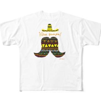 メキシコのカッコイイ Full graphic T-shirts