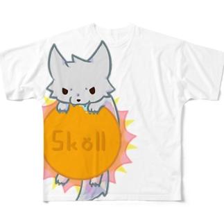 スコル Full graphic T-shirts