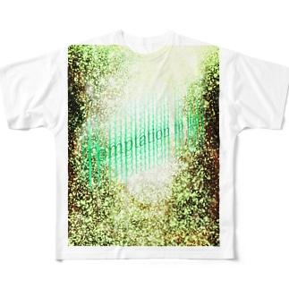 Temptation to light Full graphic T-shirts