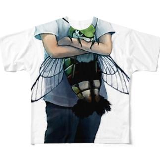 オオスカシバ Full graphic T-shirts