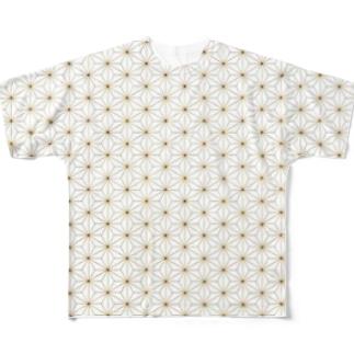 和柄 Full graphic T-shirts