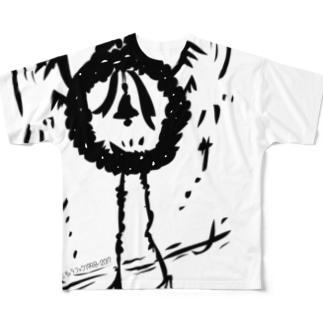 くりすますモンスターリースさん Full graphic T-shirts