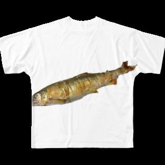 p53NMRの長良川の鮎 Full graphic T-shirts